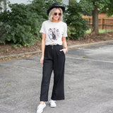 Theo Wide Pants - boutique fashion - The Girls In Grey