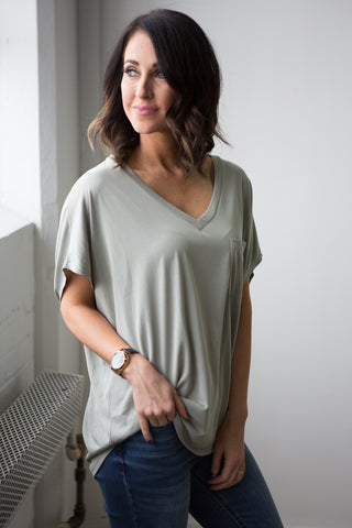 Verity Dolman Top - boutique fashion - The Girls In Grey
