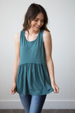 Faith Tank - boutique fashion - The Girls In Grey