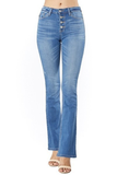 Kylie High Rise Bootcut Denim - boutique fashion - The Girls In Grey