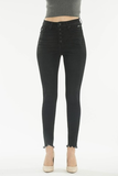 Kate Faded Black Denim - boutique fashion - The Girls In Grey