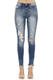 Kit Distressed Denim - boutique fashion - The Girls In Grey