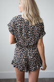 Lucy Animal Print Romper - boutique fashion - The Girls In Grey