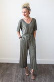 Taylor Jumpsuit - boutique fashion - The Girls In Grey