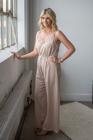 Stacey Jumpsuit - boutique fashion - The Girls In Grey