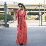 Cricket Floral Maxi Dress - boutique fashion - The Girls In Grey