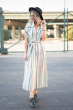 Samantha Dress - boutique fashion - The Girls In Grey