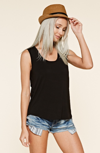 Open Back Cutout Top