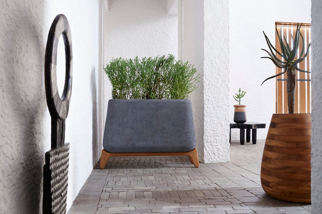 kanju Interiors African Luxury Planters and Sculpture