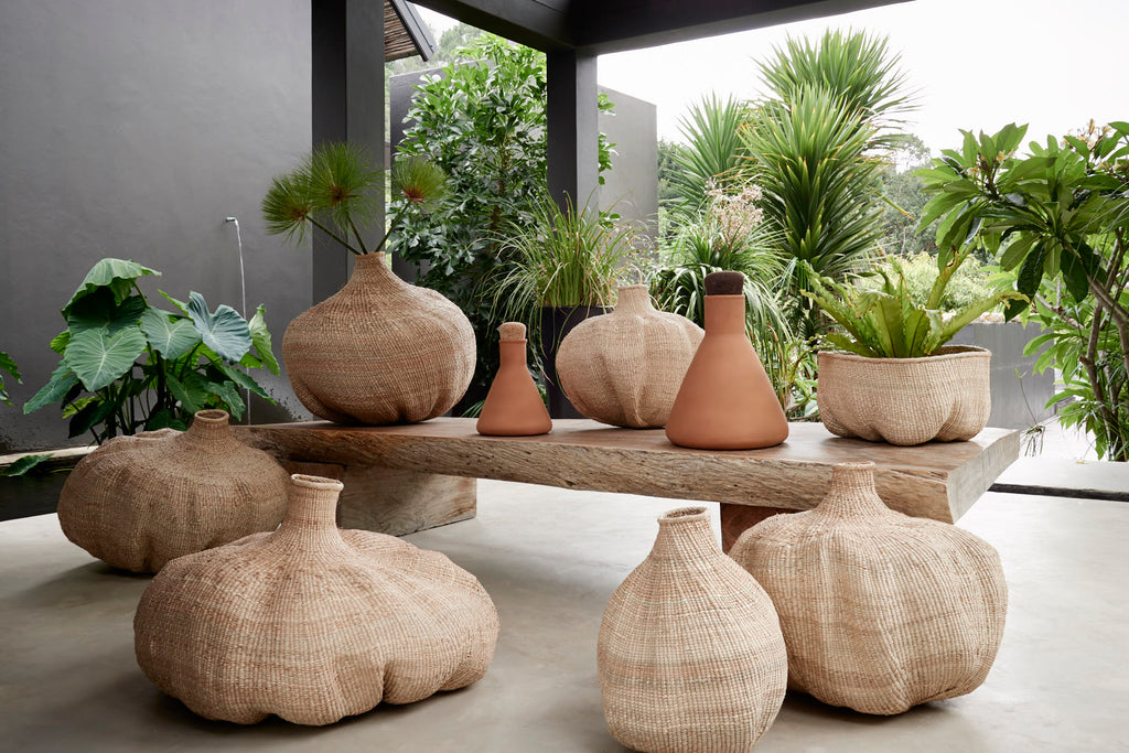 kanju Interiors African Luxury Baskets and Vessels