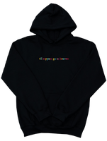 """All Rappers Go To Heaven"" TV Hoodie"