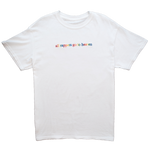 """All Rappers Go To Heaven"" White T-Shirt"