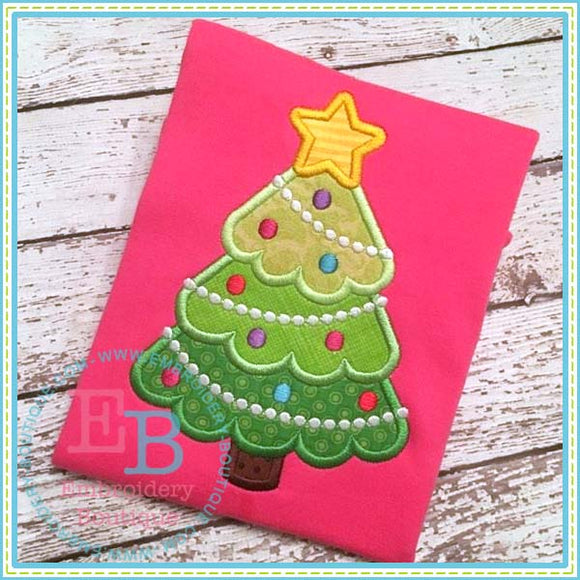 Tree Dots Applique - embroidery-boutique