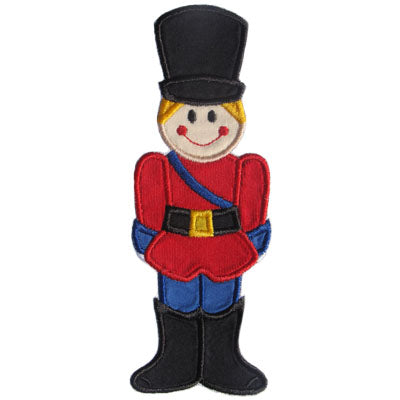 Toy Soldier Applique - embroidery-boutique