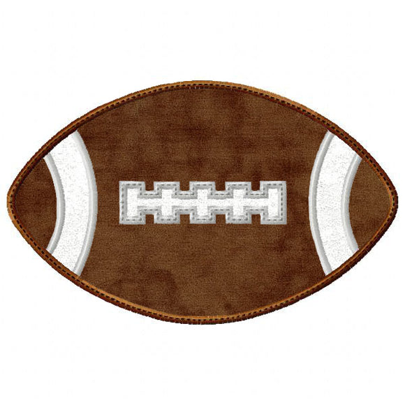 New Football Applique - embroidery-boutique