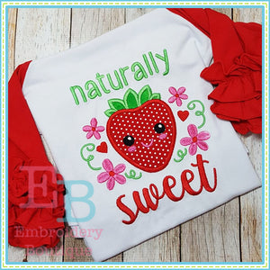 Naturally Sweet Applique, Applique