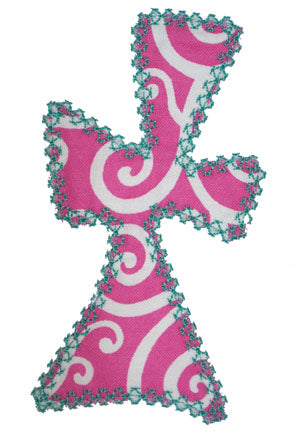 Funky Cross Applique - embroidery-boutique