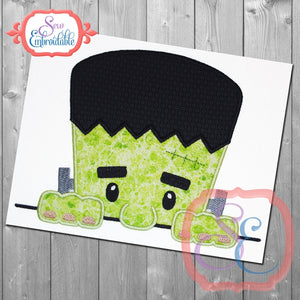Frankie Face Peeker Applique - embroidery-boutique