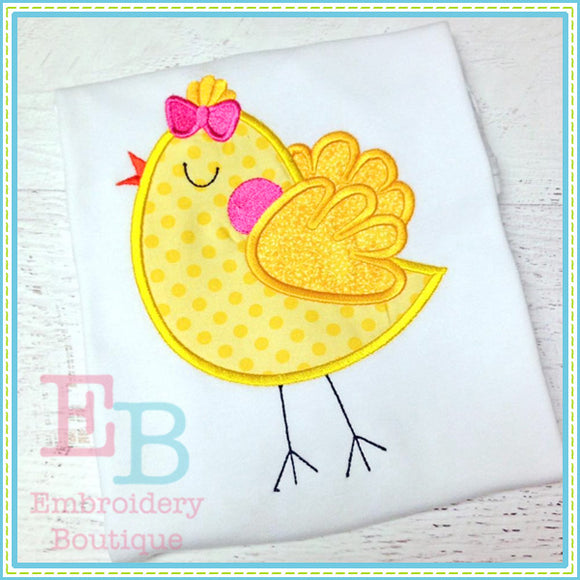 Sassy Chick Applique - embroidery-boutique