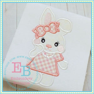 Bunny Girl Applique