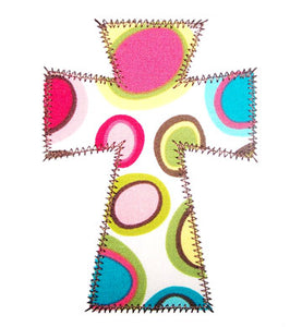 Single Cross Applique