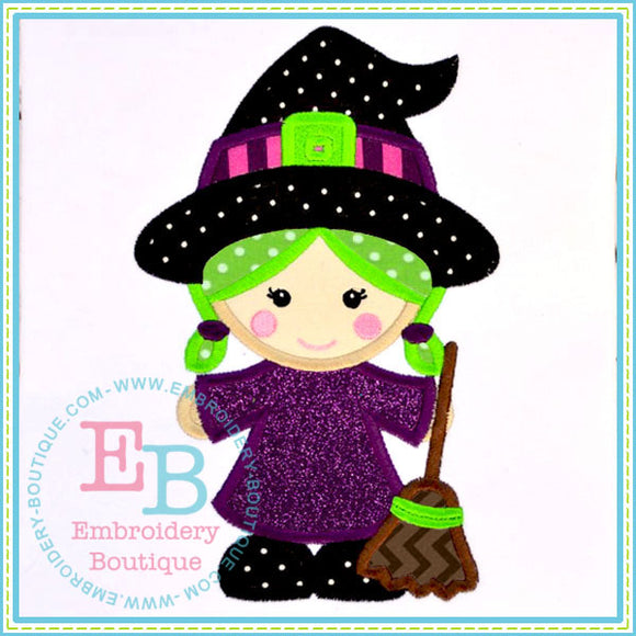 Lil Witch Applique, Applique