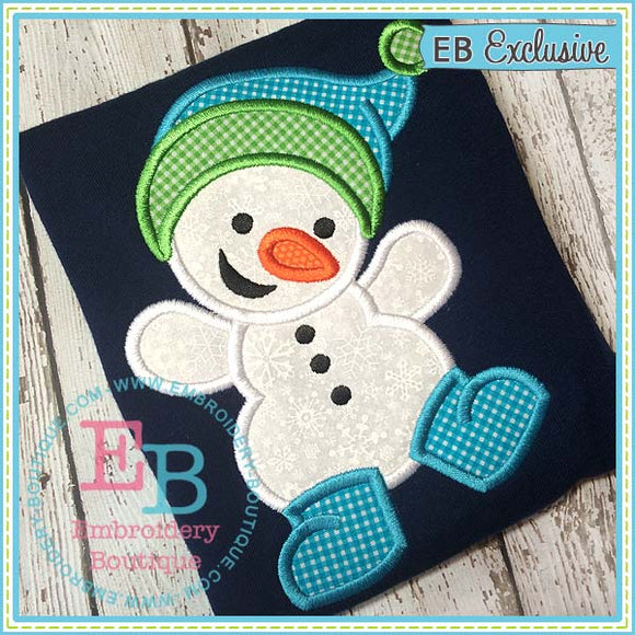 Snowboy Applique, Applique