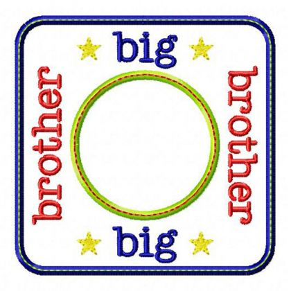 Big Brother Blank Patch - embroidery-boutique