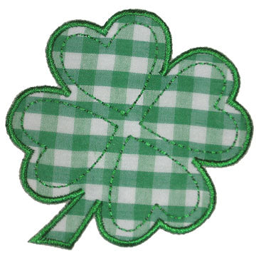 Four Leaf Clover Applique
