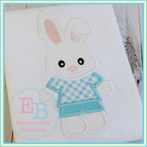Bunny Boy Applique - embroidery-boutique