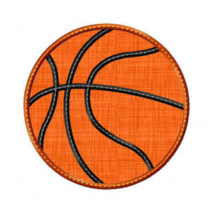 Basketball Applique - embroidery-boutique