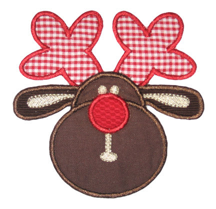 Rudolph Applique - embroidery-boutique