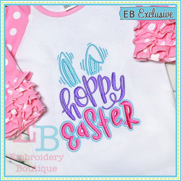 Hoppy Easter Design, Embroidery