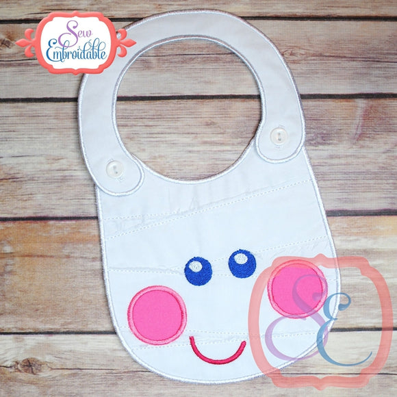 ITH Mummy Baby Bib - embroidery-boutique