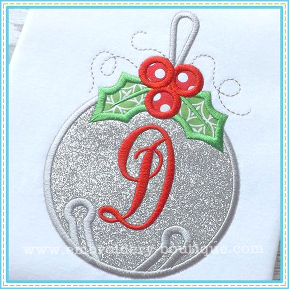 Jingle Bell Applique - embroidery-boutique