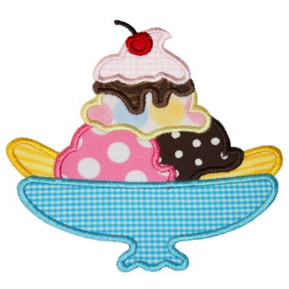 Banana Split Applique