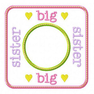 Big Sister Blank Patch