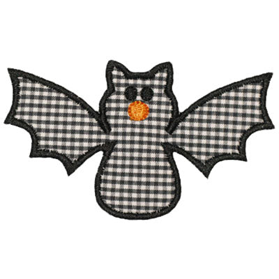 Bat Applique - embroidery-boutique