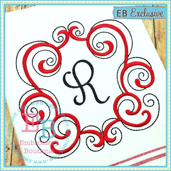 Regal Scroll Frame - embroidery-boutique