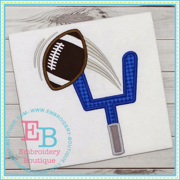 Football Goal Applique, Applique
