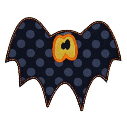 Cute Bat Applique - embroidery-boutique