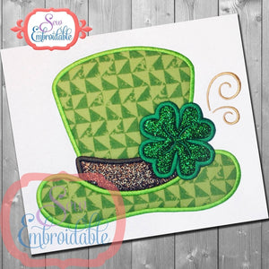 Clover Hat Applique, Applique