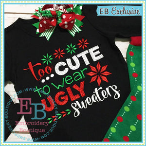 Ugly Sweater Embroidery Design, Embroidery