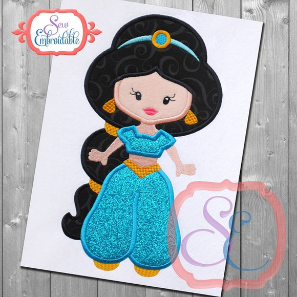 Little Princess 6 Applique