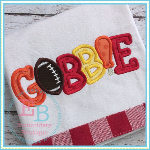 Gobble Filled and Applique - embroidery-boutique