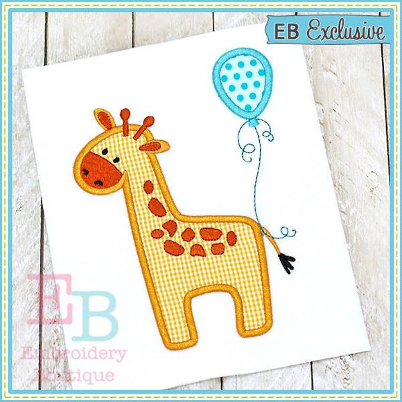 Baby Giraffe Applique, Applique