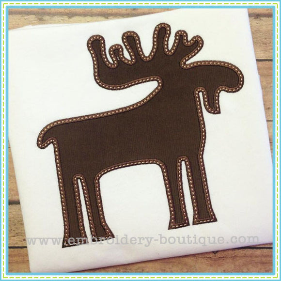Moose Applique, Applique