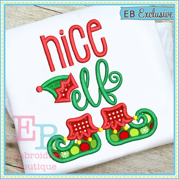 Nice Elf Applique - embroidery-boutique