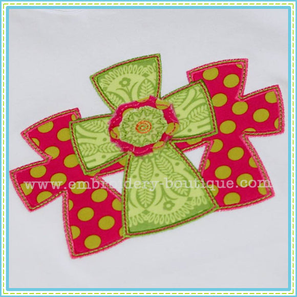 Three Crosses Applique - embroidery-boutique