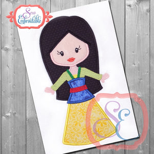 Little Princess 12 Applique